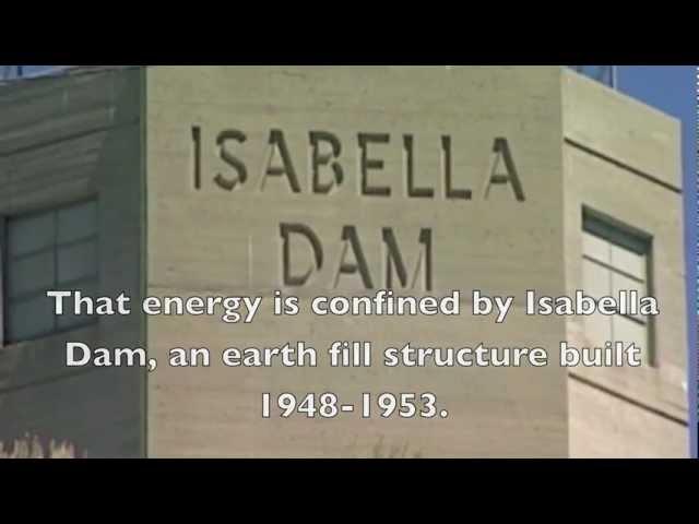 Dam Break: Lake Isabella.mov