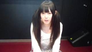イベント終了時の、尾野真知子ちゃんによるコメントです。