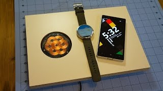 Invisibly charge your smartphone or Moto 360 with the ZENS PuK