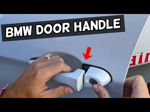 How To Install Bmw Door Handle E90 E60 Youtube