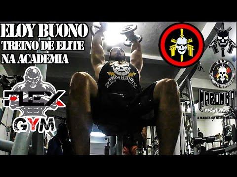 TREINO BOPE NA FLEX GYM - PEITO / OMBRO / BÍCEPS - ELOY BUONO / SERGIO GOMES