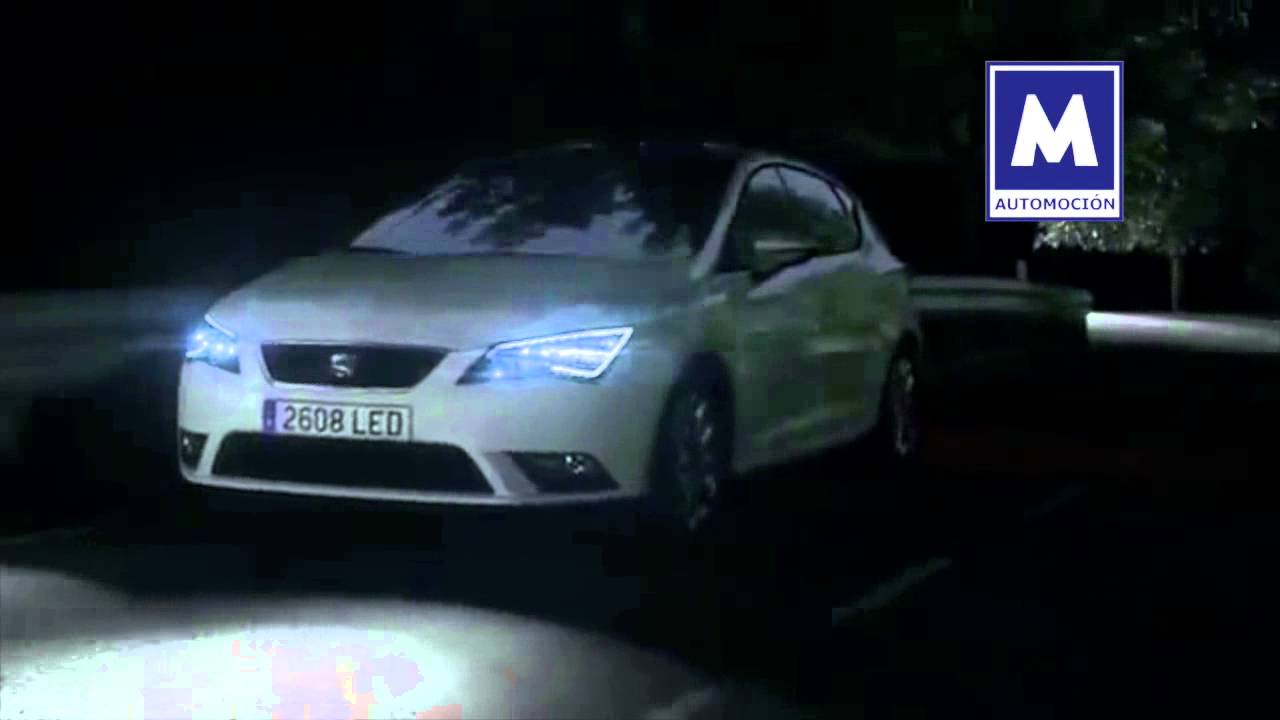 Seat le n st 2014 asistente de luces y faros full led for Seat leon led verlichting