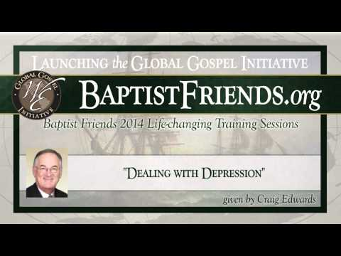 Dealing with Depression given by Craig Edwards