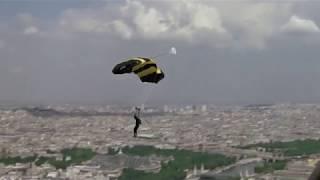 A VIEW TO A KILL   Eiffel Tower Jump
