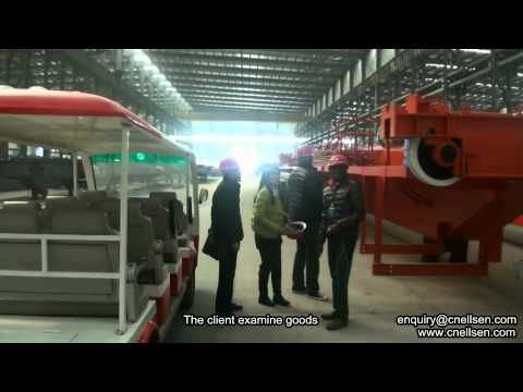 Overview of Ellsen Crane Workshop- Single/Double Girder Overhead Crane