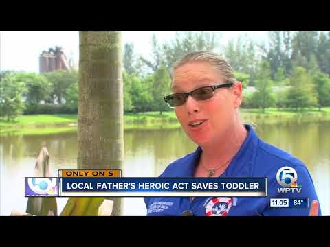 Carmine - Palm Beach Father Dives Head First Into Pool To Save Son From Drowning