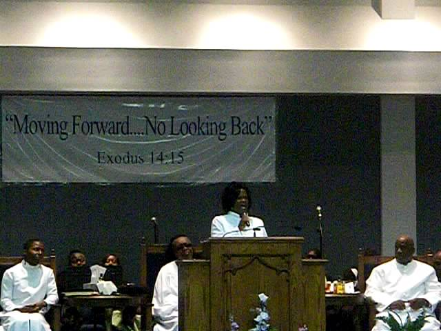 Philippi Church Of Christ '' Minister Patricia Skinner Initial Sermon''