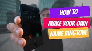 Name Ringtone Maker   How to make Free Name Ringtone