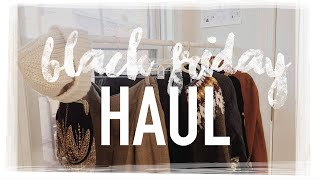 BLACK FRIDAY WINTER HAUL 2015 | Free People, Brandy Melville, & More!