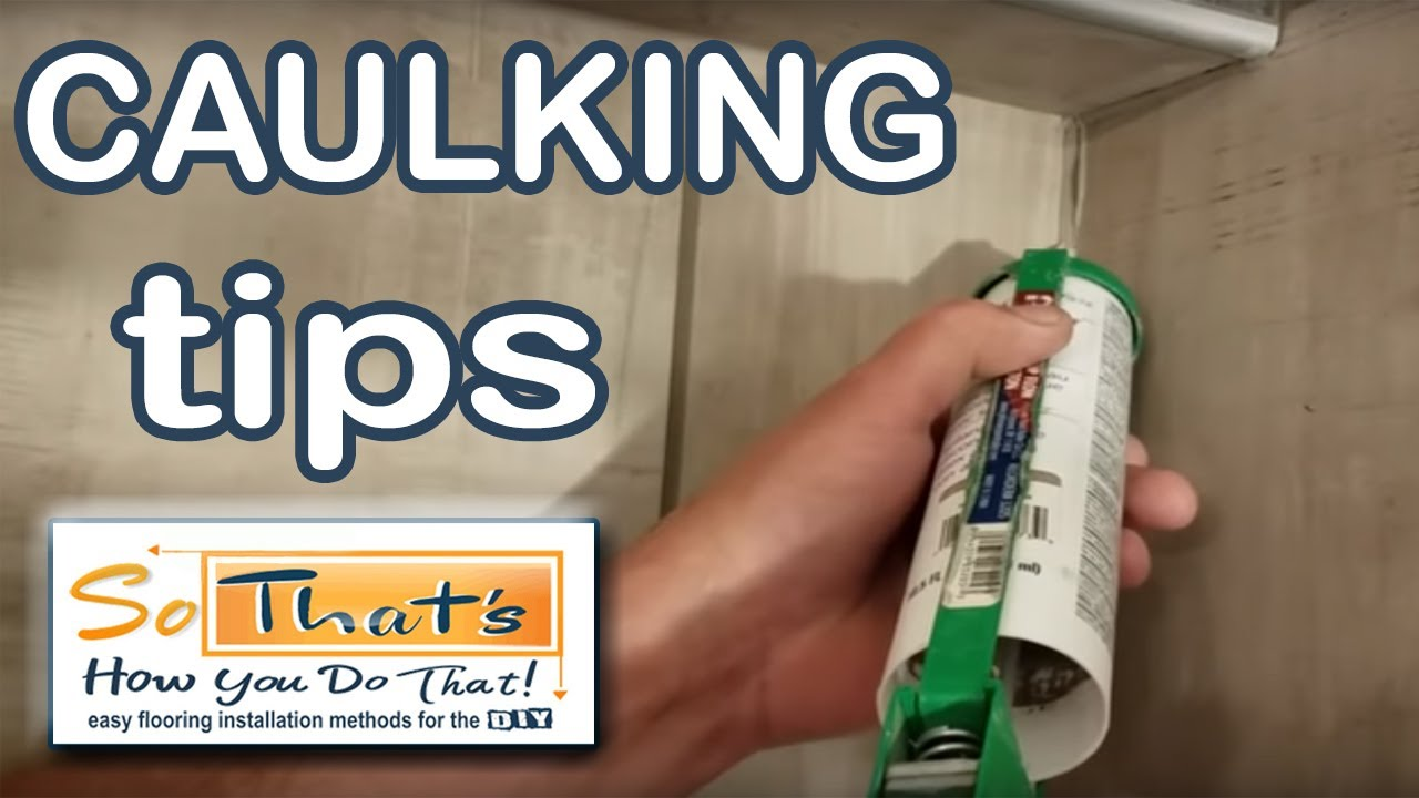 How To Caulk Corners In A Shower