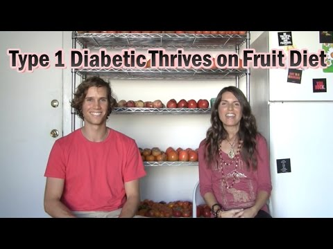 Type 1 Diabetic Thrives on a Fruit Diet + What We Ate Today