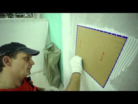 4. Укладка: Укладка мозаичной плитки. Крепс Усиленный Белый
