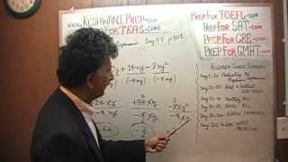 TEAS V, Math Day 48, p100, p101, Algebra, Nursing Online Test Prep Tutor GRE, GMAT, SAT, ACT