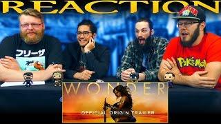 Wonder Woman - Official Origin Trailer REACTION!!