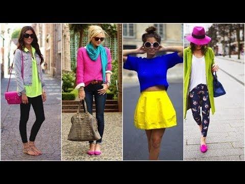 4afe2dff874eb تعلمي كيفية تنسيق الملابس بأناقة مع تشكيلة ملابس ربيع 2019 وما هي الألوان  التي تتناسب مع بعضها