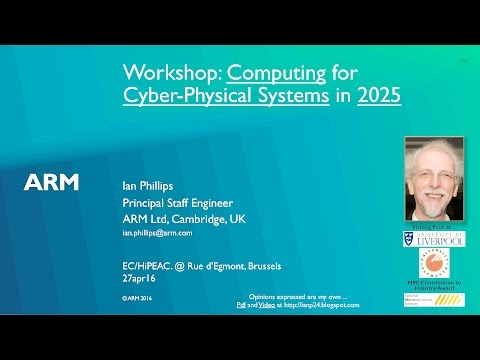 Computing for CPS in 2025 - @EU/HiPEAC (25m)