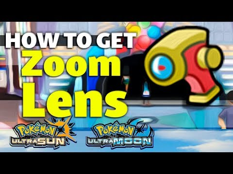 HOW TO GET Zoom Lens In Pokemon Ultra Sun And Moon
