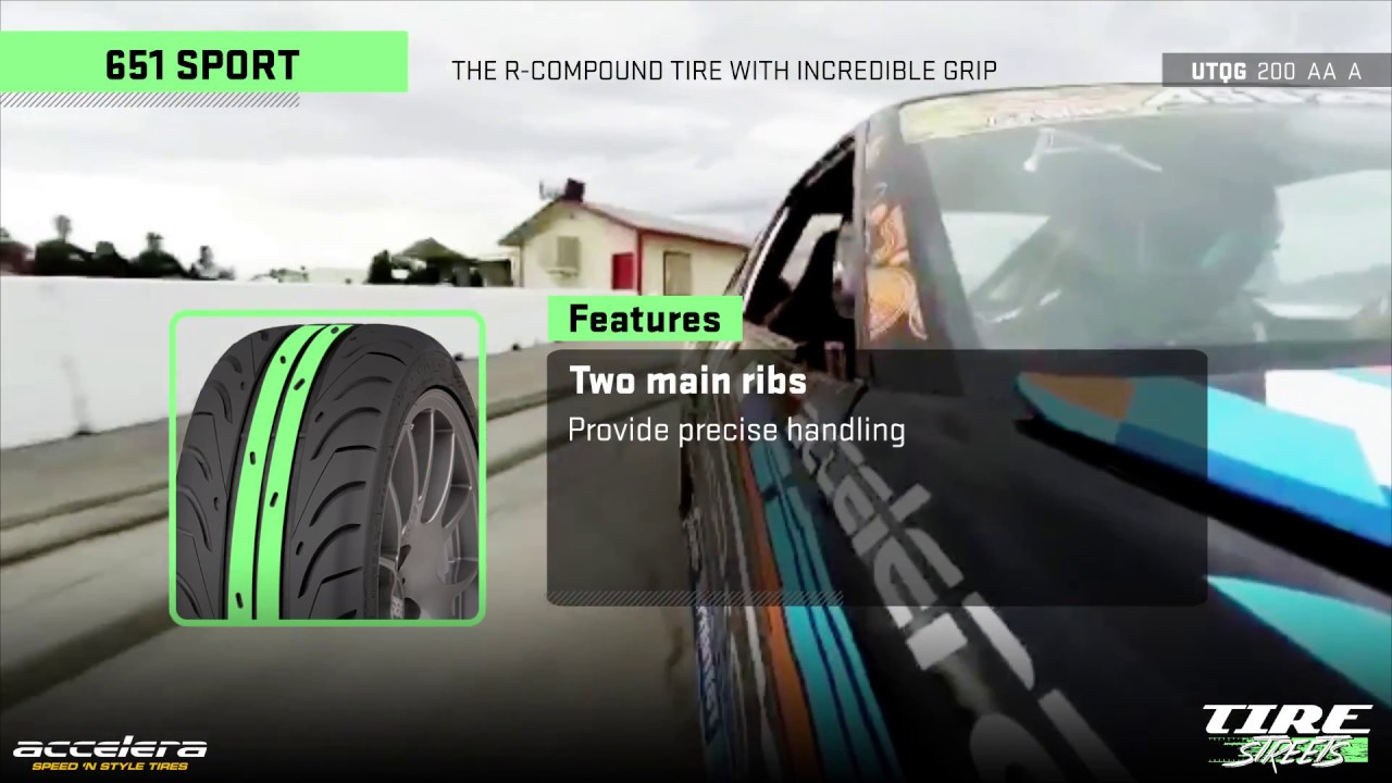 EP tyres Accelera 651 195//50 R16 84W Semi-Slick