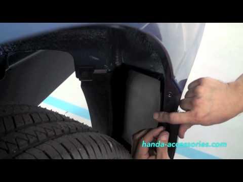 Civic Splash Guards Installation (Honda Answers #26)