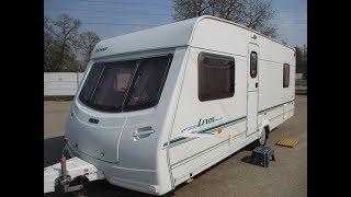 Обзор жилого прицепа для проживания,каравана,автодома  LUNAR с французской кроватью!