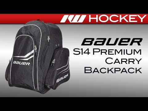 Bauer S14 Premium Carry Hockey Backpack Review
