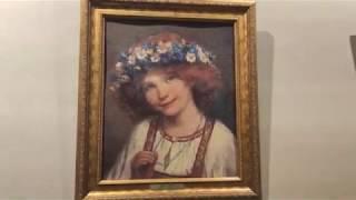 Встреча с Ангелом у Шереметьевых. Выставка многоцветных картин в музее-усадьбе Остафьево