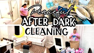 AFTER DARK CLEAN WITH ME | EXTREME CLEANING MOTIVATION | SAHM | CLEANING ROUTINE 2019