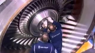 Rolls Royce Trent 1000 assembly & first test, Montaje y primera prueba