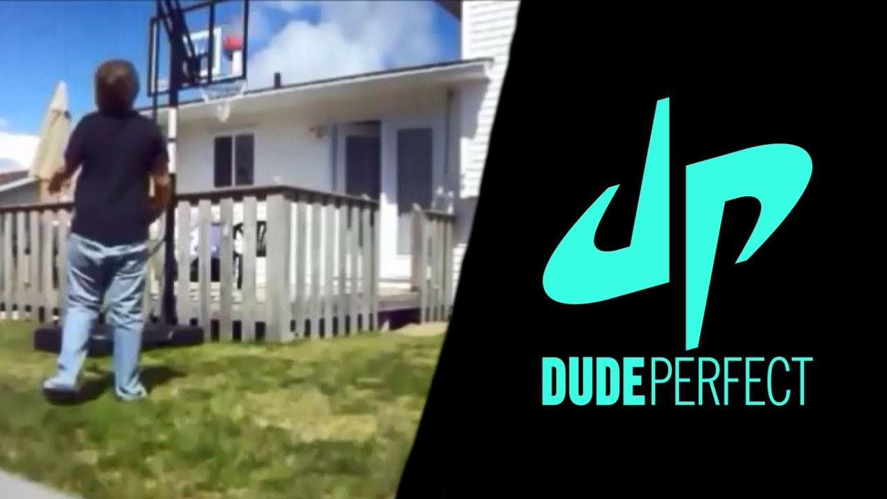 The Time We Tried to be DudePerfect (Basketball Trick Shots)