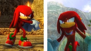 Sonic 06 PC P-06 Demo 2 and Knuckles