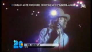 Les 10 chansons de Johnny Hallyday que les français n'oublieront jamais