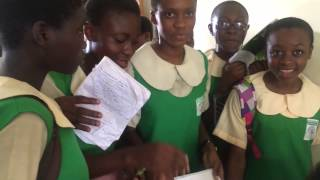 Students met Regina Daniels and requested for an autograph - Latest nollywood movie