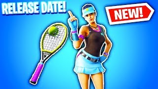 Fortnite VOLLEY GIRL RELEASE DATE! (Fortnite Tennis Skin Release Date)