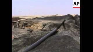 Explosion damages pipeline in northern Iraq; sabotage suspected