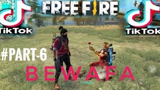 Free Fire💔Bewafa 🥴Tik Tok Part-6#. Only Sad😢 Seen..Check in Description 😀