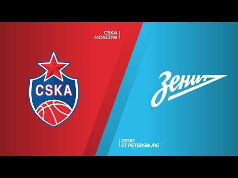 CSKA Moscow - Zenit St Petersburg Highlights | Turkish Airlines EuroLeague, RS Round 15