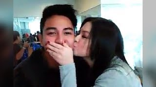 Barbie Forteza KISSES Jak Roberto during Sunday Pinasaya Facebook Live [Jakbie Kilig Moment]