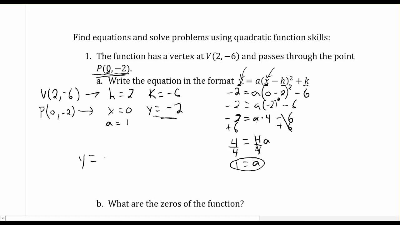 Quadratic Equations - Mr. Brown's Website [ 720 x 1280 Pixel ]
