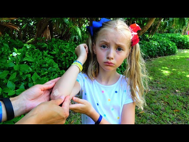 The Boo Boo story from Polina and mama