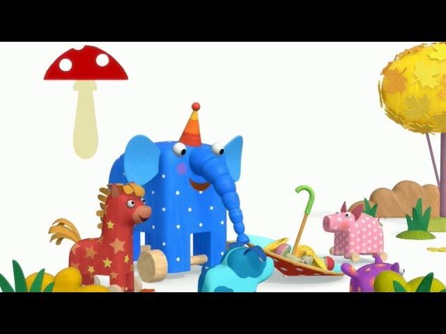 Теремок песенки МУЛЬТ — Деревяшки — ГРИБЫ 🍄 Детские песенки из мультфильмов