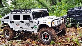 [ JKRC ] 3d printed HUMMER H1 on scx10 [ 4X4 Off Road Trail Rc Car ]