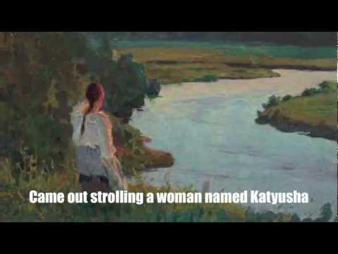 Katyusha Катюша English Subtitles Russian Folk Song Translation Lyrics Music