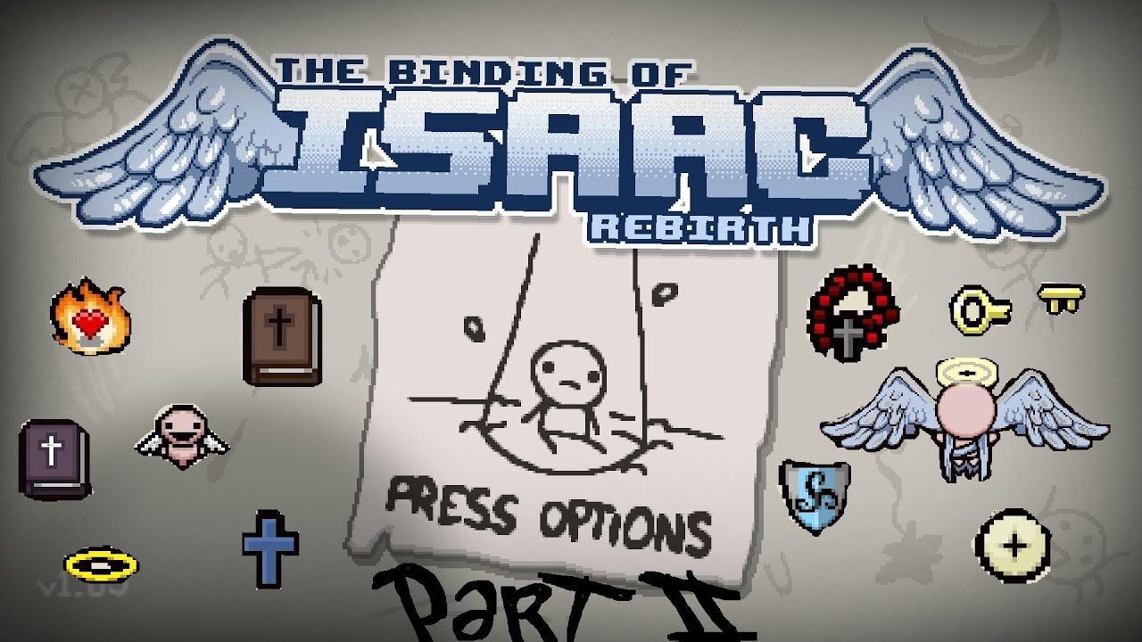 The Binding Of Isaac Rebirt All Items From The Angel Room