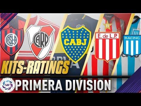 camisetas futbol liga argentina