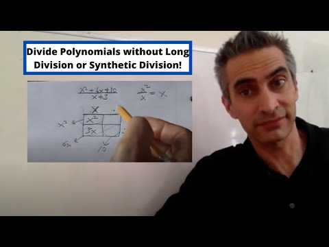Fun Alternative Ways To Divide Polynomials Using The Box-without Long Division Or Synthetic Division