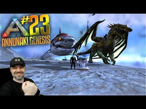 Ark Annunaki Genesis Mod Gameplay - S2 Ep 23 - ARK UNDERWATER BASE MOD ANTIWATER FIELD GENERATOR