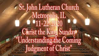 11-22-2020 Understanding the Coming Judgment of Christ