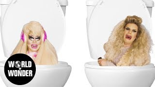 """The Trixie & Katya Show"" premieres Wednesday, November 15th at 10pm ET/PT on Viceland TV. Stop holding in those tears and let out that howling cry!"