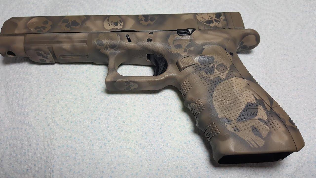Spray Paint Camo On Rifle