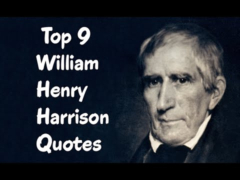 a biography of william henry harrison as the 9th president of the united states William henry harrison became our shortest serving president at only 43  http:// wwwhistorycom/topics/us-presidents/william-henry-harrison.